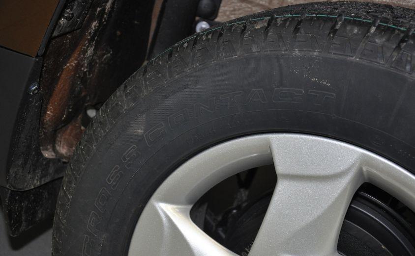 давление в шинах рено дастер