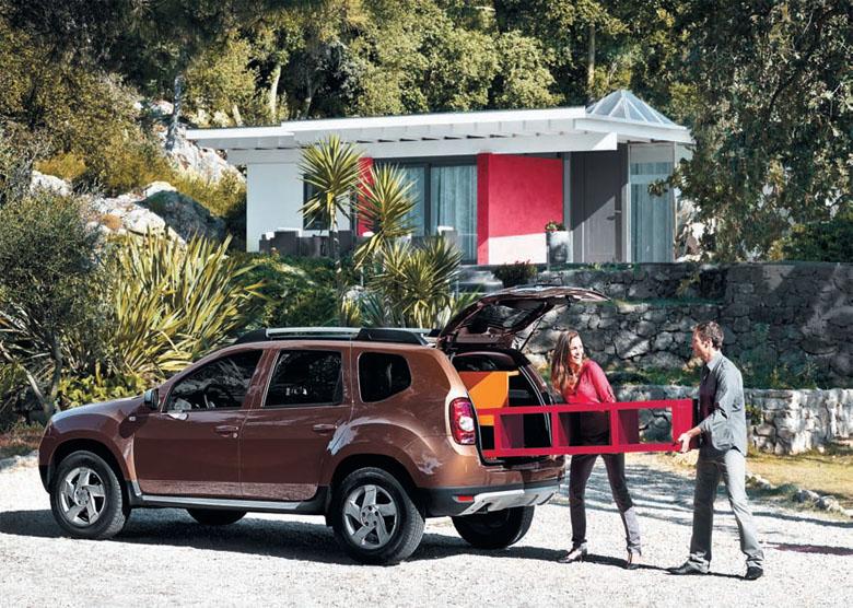 Renault Duster объем багажника