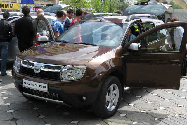Duster разборка