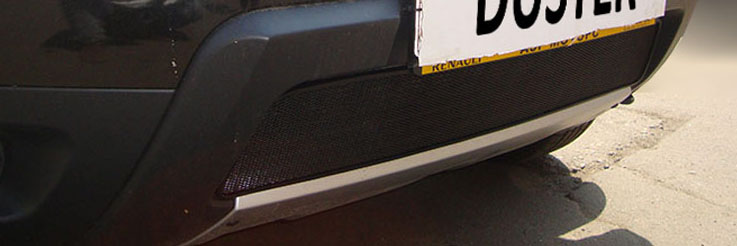 защита решётки радиатора рено дастер